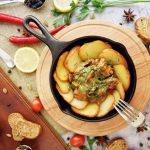 Лучший рецепт жареной картошки с грибами на сковороде 2019