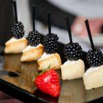 Простые и вкусные канапе с сыром рецепт с фото 2019 пошагово