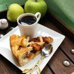 Вкусный полезный рецепт постного пирога с яблоками 2019 фото