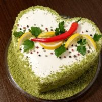 Соленый торт для мужчины: самые вкусные и не сложные рецепты