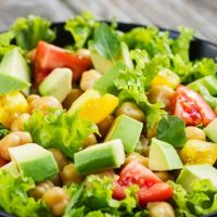 Самые вкусные и быстрые салаты