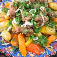 Узбекские блюда из мяса. Часть 1