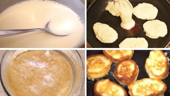 Как готовить оладьи на кефире – пошаговый рецепт