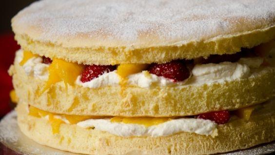 Вкусный бисквит - рецепт с фото, легкий рецепт, пышный
