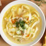 Куриный суп с лапшой – 6 лучших рецептов первого блюда