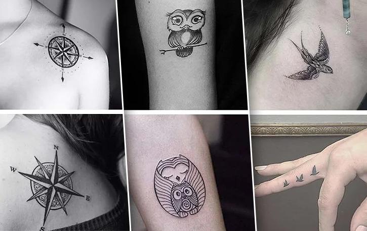 Особенности маленьких татуировок