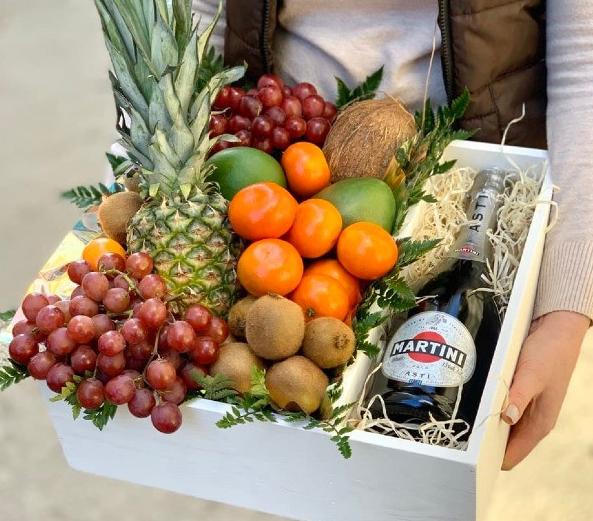 фруктовые подарочные боксы