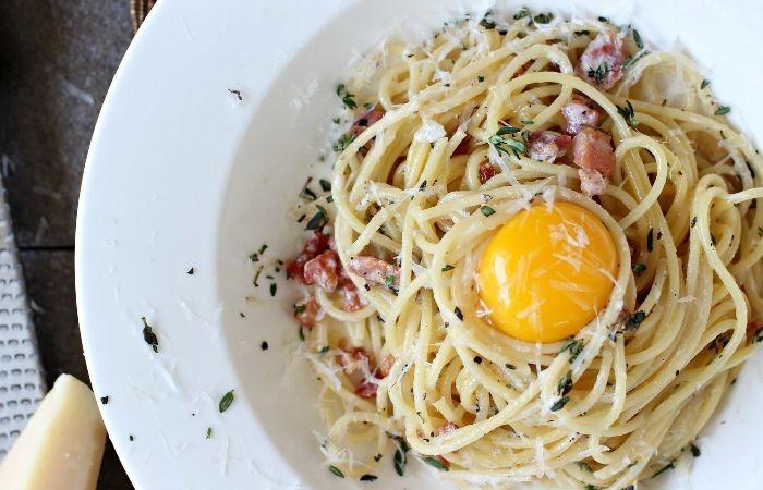 паста карбонара рецепт классический со сливочным соусом