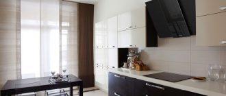 Вертикальная вытяжка для кухни